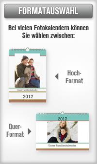 Fotokalenderformate