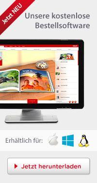 Unsere kostenlose CEWE Bestellsoftware