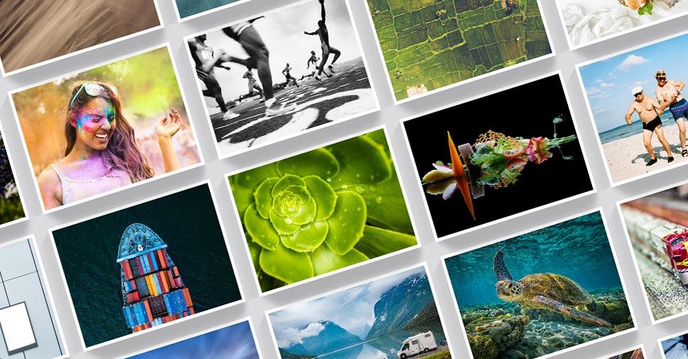 Nehmen Sie an verschiedenen Kategorien unseres CEWE PHOTO AWARD teil und gewinnen Sie Preise im Gesamtwert von CHF 300.000