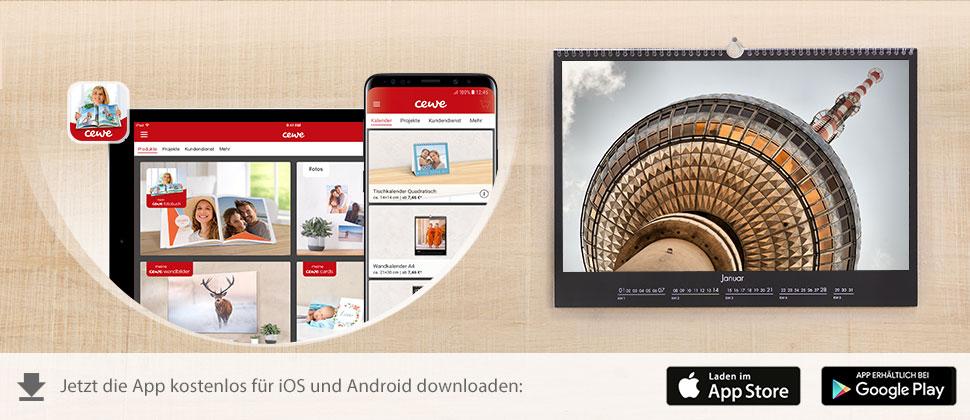 CEWE FOTOWELT App