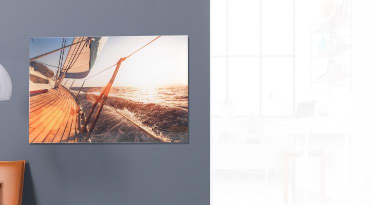 Foto hinter Acrylglas (Fotopapier)