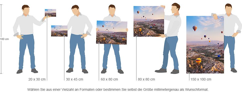Gallery Print - Formate im Überblick