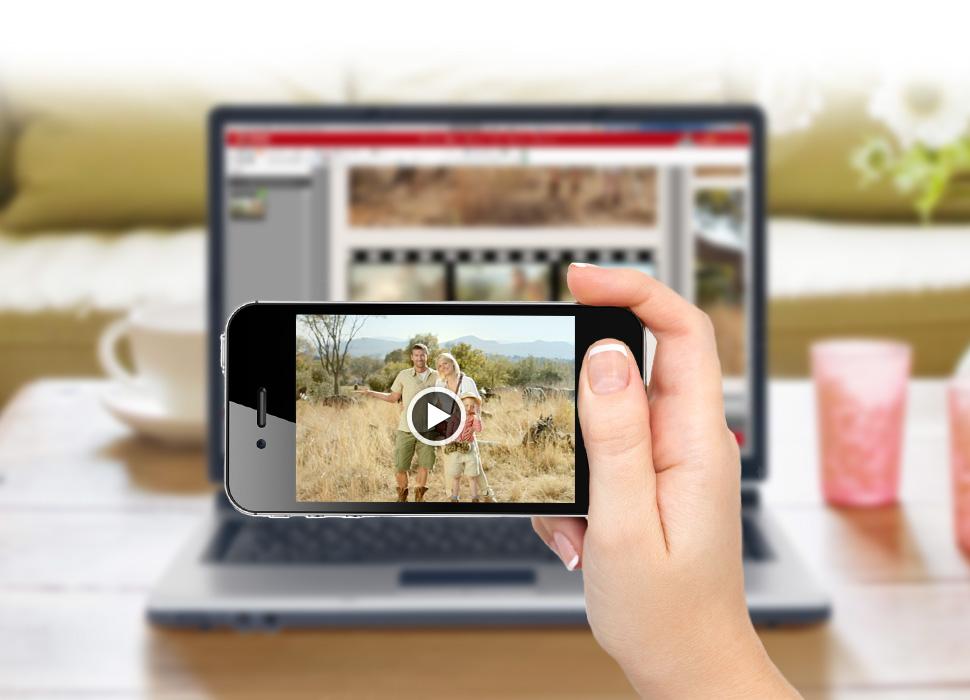 4. Einscannen des QR-Codes mit einem Smartphone oder Tablet