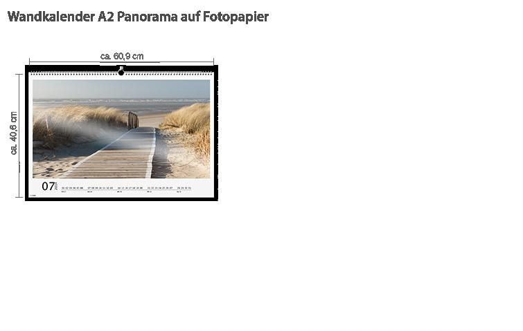 Wandkalender A2 Panorama