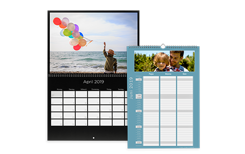 fotokalender 2018 online erstellen gestalten. Black Bedroom Furniture Sets. Home Design Ideas