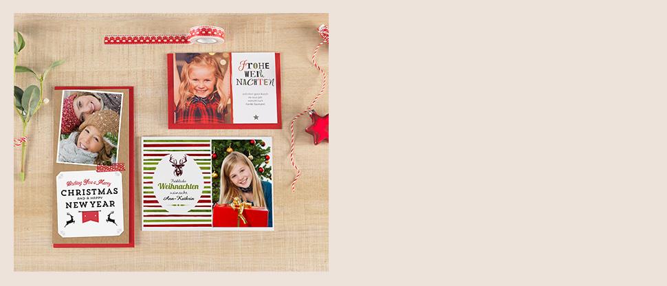 Weihnachtskarten online erstellen colorfotoservice for Weihnachtskarten erstellen