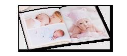 Exemples de livre photo sur le thème dde la famille