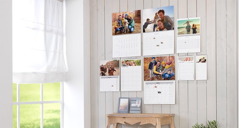 Très pratique : les  calendriers « Agenda » avec photos