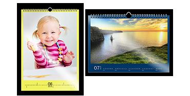 Calendario da parete A3 glossy